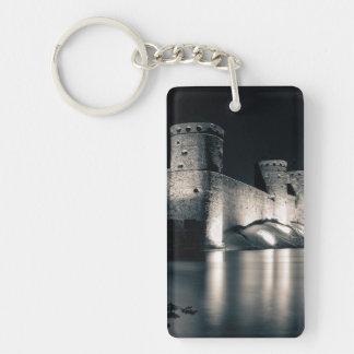 Castillo medieval llavero