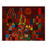 Castillo y Sun de Paul Klee Posters