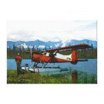 Castor Floatplane de Havilland Impresión En Lona Estirada