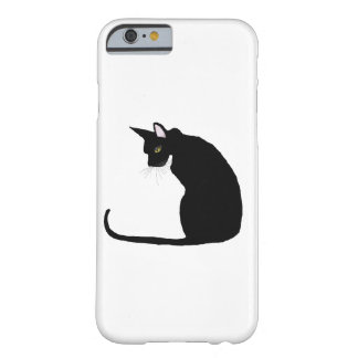 CAT NEGRO FUNDA BARELY THERE iPhone 6