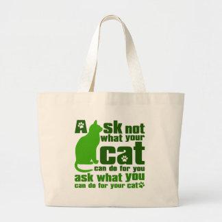 Cat_Print Bolsa De Mano