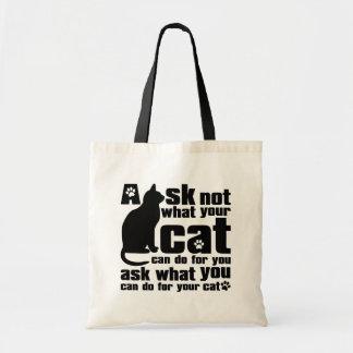 Cat_Print Bolsas De Mano