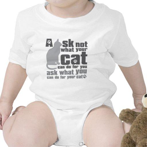 Cat_Print Traje De Bebé