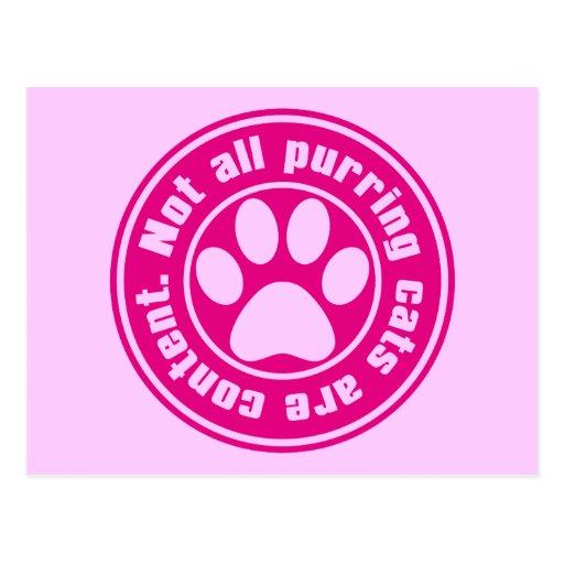 Cat_Print Tarjeta Postal