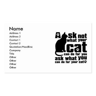 Cat_Print Tarjetas De Visita