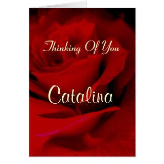 Catalina Tarjeta De Felicitación