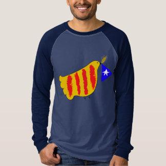 Catalunya Pau i Llibertat, paz de Cataluña se Camiseta