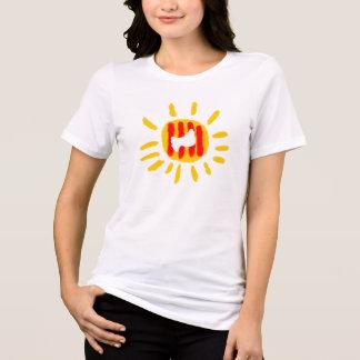 Catalunya sun ,Patriotic Symbol. Camiseta