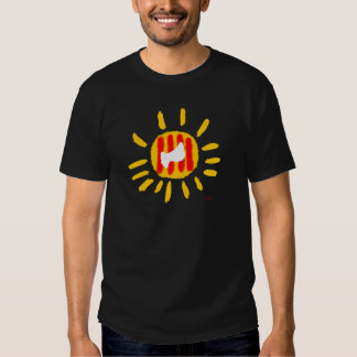 Catalunya Sun, símbolo patriótico, Cataluña Camiseta