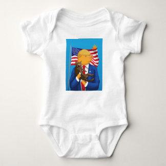 Catástrofe americana body para bebé