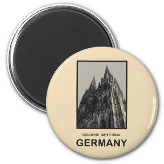 Catedral de Alemania Colonia Imán Redondo 5 Cm
