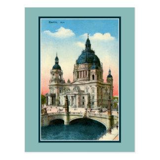 Catedral de Berlín del vintage (Dom) Postal