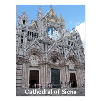Catedral de la postal exterior delantera de la