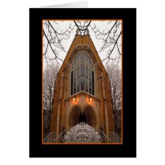Catedral de la tarjeta de la aclaración