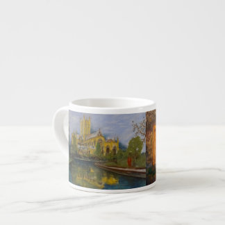 Catedral de los pozos - dos pinturas taza de espresso