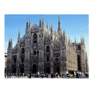 Catedral de Milano, Italia Tarjetas Postales