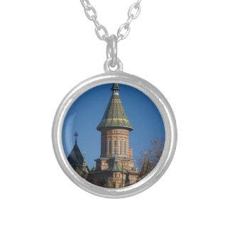 Catedral de Mitropolitan, Timisoara, Rumania Collar Plateado