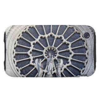 Catedral de Notre Dame, detalle Carcasa Though Para iPhone 3