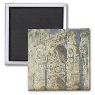 Catedral de Ruán en luz del sol completa Iman De Frigorífico