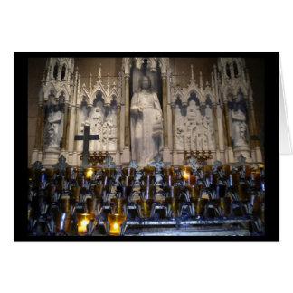 Catedral de San José, postal de Nueva York Tarjeta De Felicitación