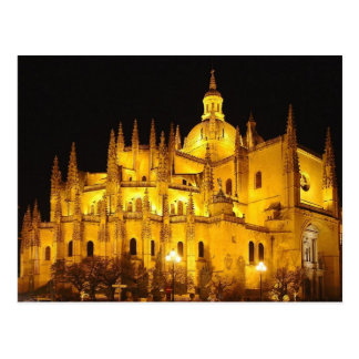 Catedral de Segovia, Espana Postal