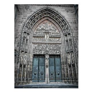 Catedral del St. Lorenz - postal de Nuremberg,