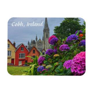Catedral e imán de Cobh Irlanda de las flores