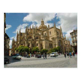 Catedral España de Segovia Postal