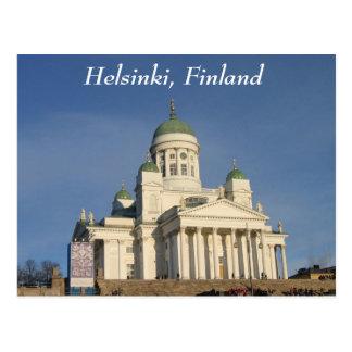 Catedral evangélica finlandesa del Lutheran Postales