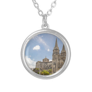 Catedral metropolitana Fortaleza el Brasil Collar Plateado
