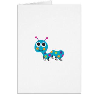 Caterpillar carda tarjeta