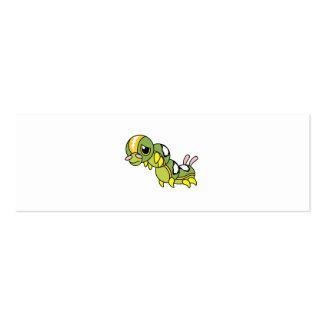 Caterpillar que llora gritador solo triste asalta tarjetas de visita