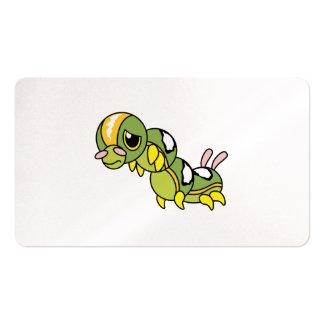 Caterpillar que llora gritador solo triste carda tarjetas de visita