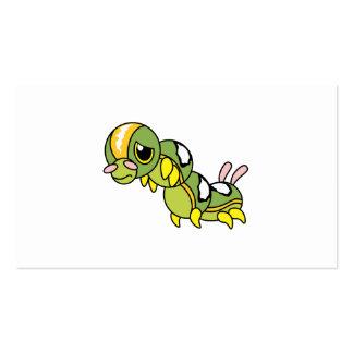 Caterpillar que llora gritador solo triste soporta tarjetas de visita