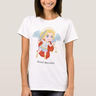 Católico lindo del arcángel de San Miguel Camiseta