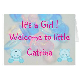 Catrina Felicitaciones