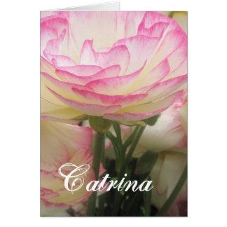 Catrina Tarjeta De Felicitación