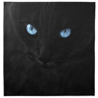 cats blue eyes servilleta de tela