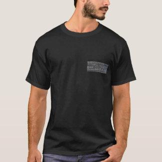 Causa de la muerte - Electrocución-Voltios Camiseta