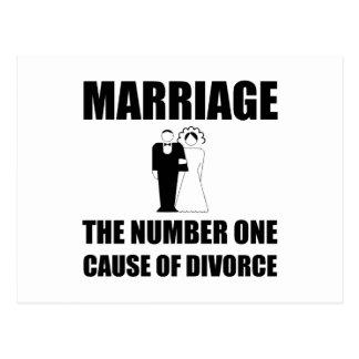 Causa del divorcio postal