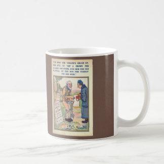 Cavador grave taza de café