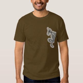 Cavadura de la camiseta de Brown de las tenazas