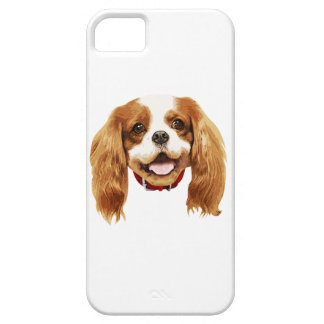 CavalierKingCharlesSpaniel_Epagneul face002 iPhone 5 Cárcasa