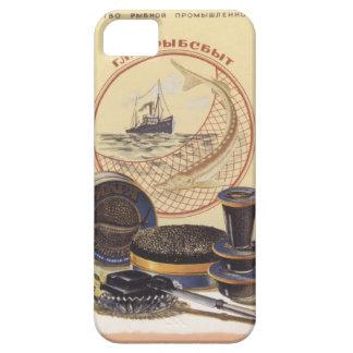 Caviar negro funda para iPhone SE/5/5s