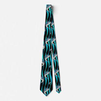 Caza de la aguja corbata