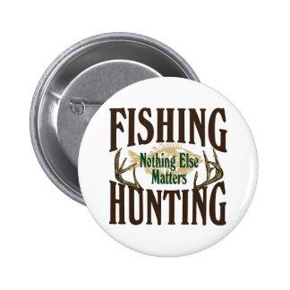 Caza de la pesca nada materias otras chapa redonda de 5 cm