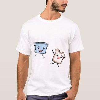 Caza de la tostada camiseta