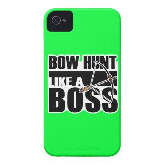 Caza del arco como Boss Funny gif iPhone 4 Cobertura