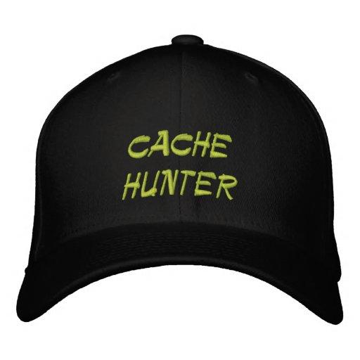 cazador del escondrijo gorras bordadas