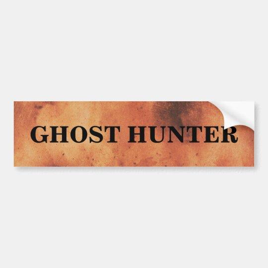 Cazador del fantasma fantasmagórico pegatina para coche